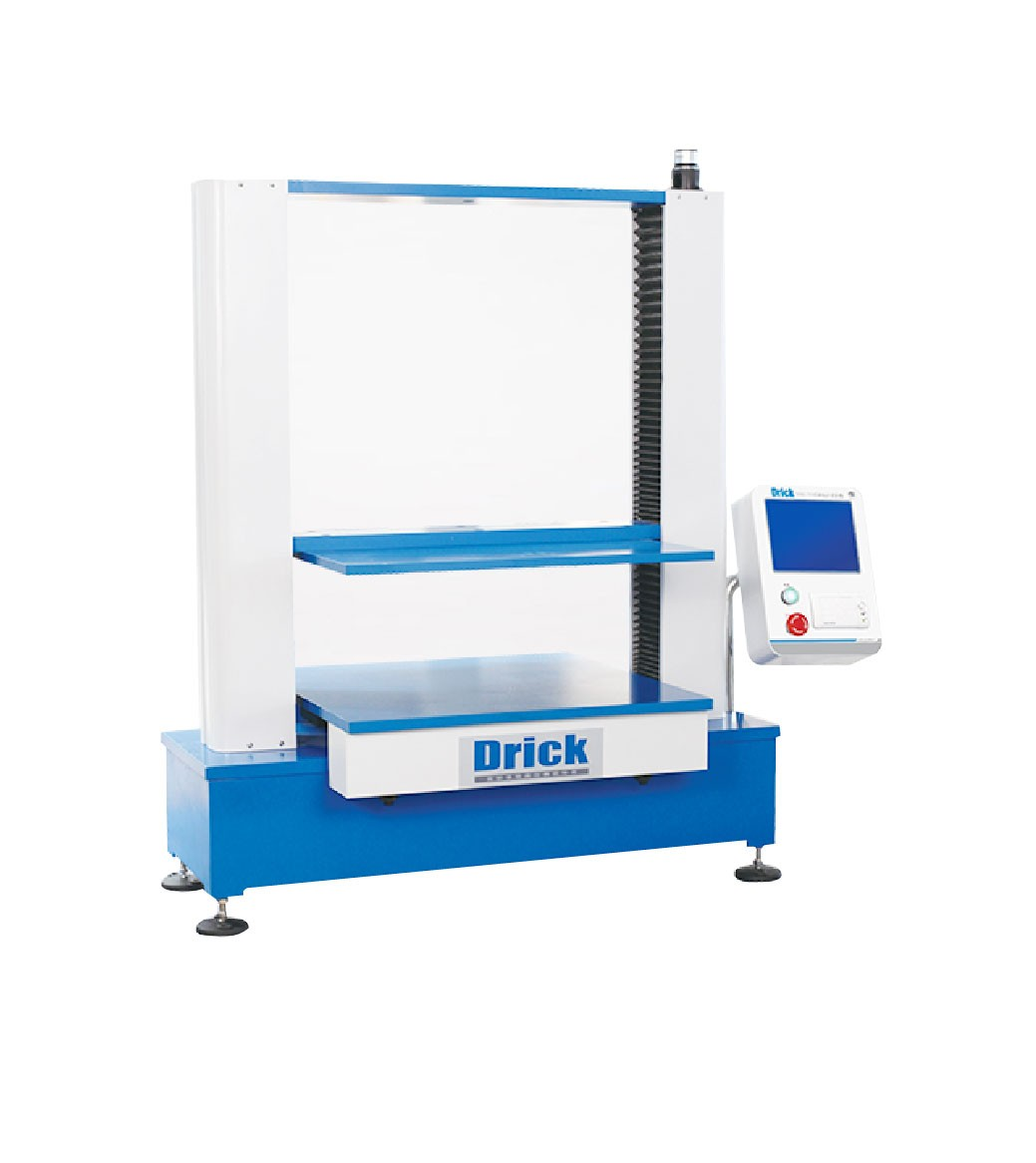 Touch-screen carton compression tester